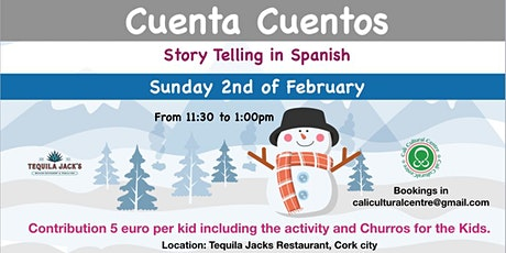 Story Telling in Spanish tickets