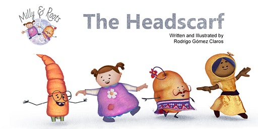 Children's book  Launch celebration - Milly & Roots - The Headscarf