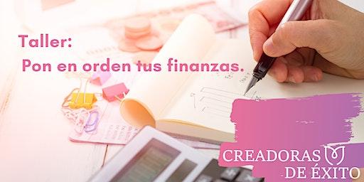 Taller: Organiza tus finanzas