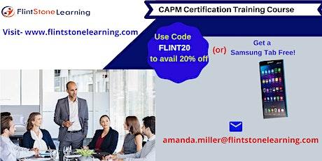 CAPM Certification Training Course in Oakdale, CA tickets