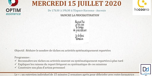 Formation efficacité : vaincre la procrastination