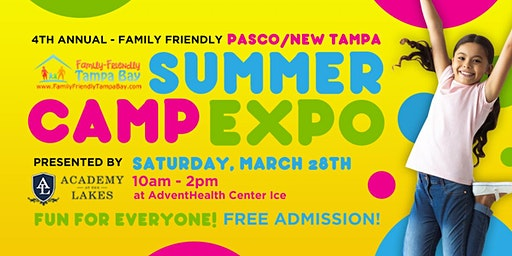 4th Annual Family-Friendly Summer Camp Expo (Pasco/New Tampa Edition)
