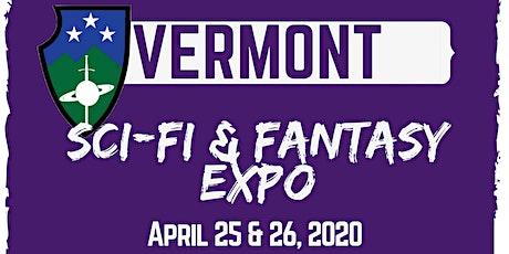 Vermont Sci-Fi & Fantasy Expo 2020 tickets
