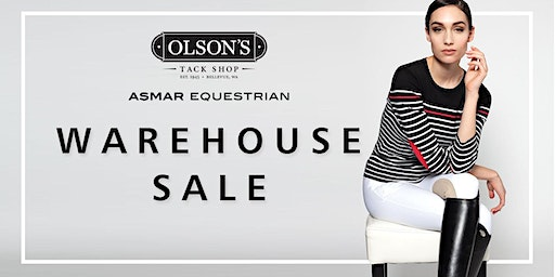 Asmar Equestrian Warehouse Sale-Early Bird Entry