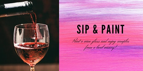 Sip & Paint a Wine Glass tickets