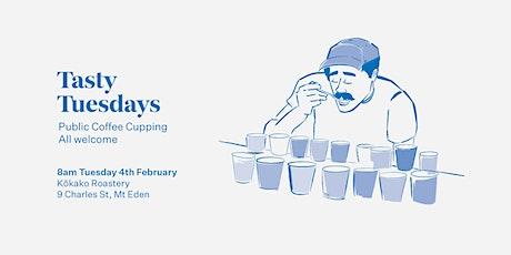 Tasty Tuesdays Public Cupping tickets