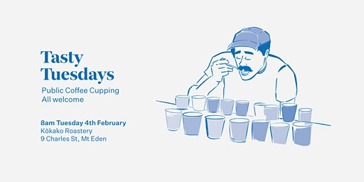 Tasty Tuesdays Public Cupping