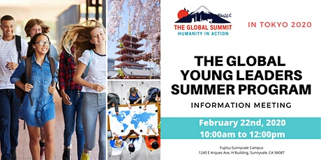 The Global Young Leaders Program(GYLers) Information Meeting tickets