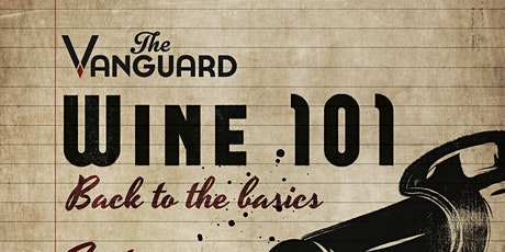 Vanguard Wine 101 tickets