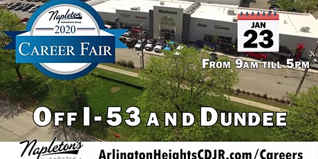 Napleton's Arlington Heights CDJR Career Fair tickets