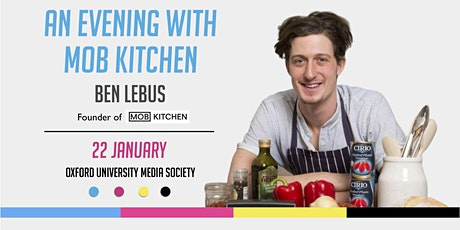 An Evening with Mob Kitchen: Ben Lebus tickets