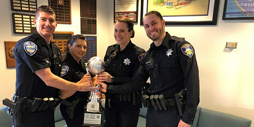 Battle of the Badges - Basketball Spectacular - Marina PD vs Salinas PD