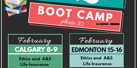 LLQP BOOT CAMP FOR EDMONTON (PHASE 10) tickets