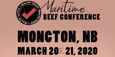 2020 Maritime Beef Conference/Congrès du Conseil du boeuf des Maritimes tickets