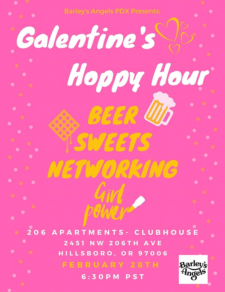 Galentine's Hoppy Hour: Barley's Angels PDX image