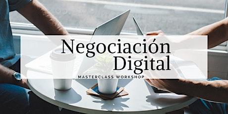 Negociación Digital Master Workshop boletos