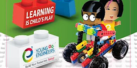 Lego Bricks Challenge Workshop 2-Saturday- Motorized Elevator - e2 Young Engineers Ireland tickets