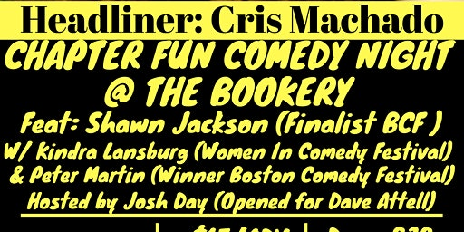 Chapter Fun Comedy Night with Headliner Cris Machado