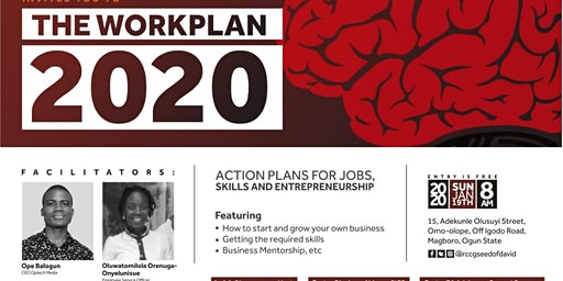THE WORKPLAN 2020