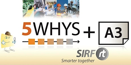 SA - 5 Whys / A3 Practical Problem Solving 1 day   RCARt tickets