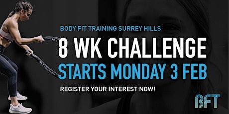 Body Fit Training Surreyhills: 8 Week Challenge Information night tickets