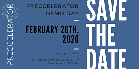 Preccelerator Program Class 13 Demo Day + Angel Investor Panel tickets
