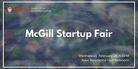 McGill Startup Fair 2020 tickets