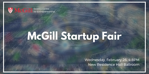 McGill Startup Fair 2020