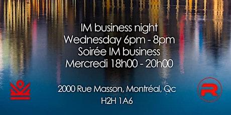 IM Business tickets