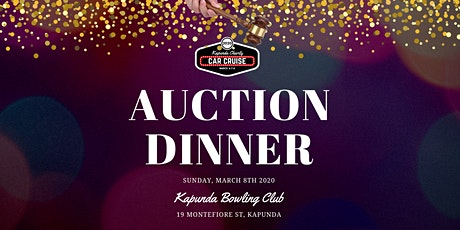 2020 Kapunda Charity Car Cruise Auction Dinner & Fundraiser tickets