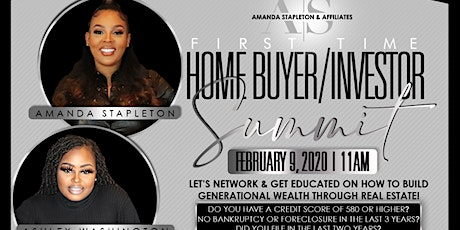 First Time Home Buyer/ Investor Summit tickets