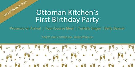 Ottoman Kitchen 1st Birthday Party tickets