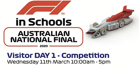 F1 in Schools National Final - Visitor Day 1 tickets