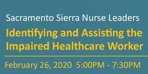 Sierra Nurse Leaders Education Event