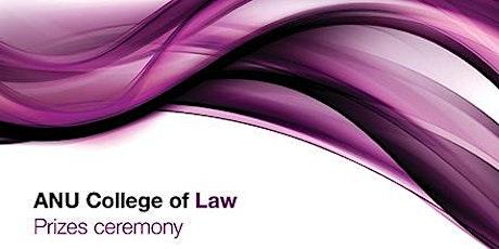 ANU Law Prizes Ceremony tickets