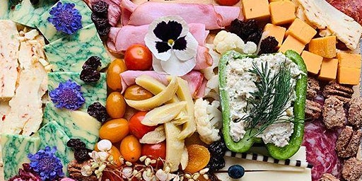 Create A Stunning Charcuterie & Cheese Party Board to Take Home!
