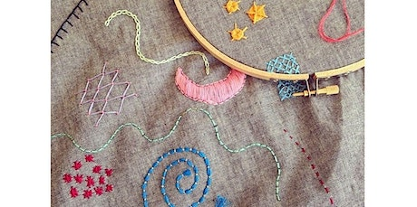 Embroidery Intensive: Become a Master Stitcher! (Two Session Workshop) (03-17-2020 starts at 7:00 PM) tickets