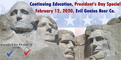 Continuing Education - President's Day Special tickets