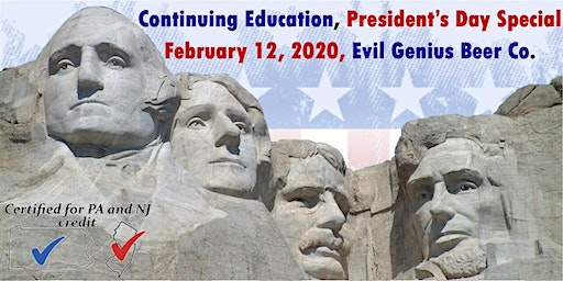 Continuing Education - President's Day Special