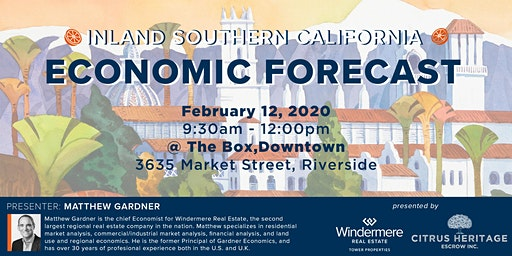 Inland Southern California Market Forecast with Matthew Gardner @ The Box