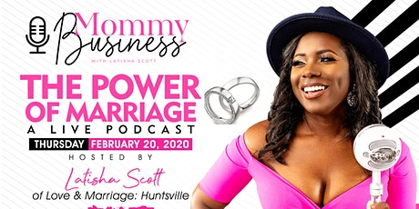 The Power Of Marriage: A Live Podcast Recording tickets