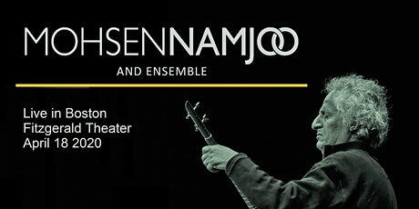 Mohsen Namjoo & Ensemble Live in Boston tickets