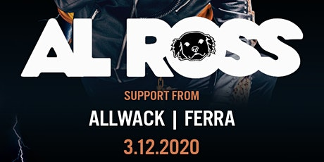 We The Plug Presents: Al Ross at Simons 03.12.2020 tickets