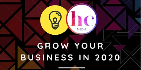 Grow your business in 2020 tickets