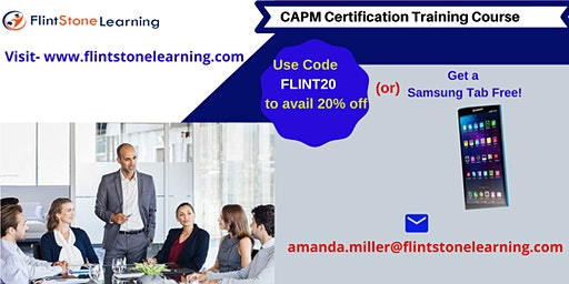 CAPM Certification Training Course in Palo Cedro, CA
