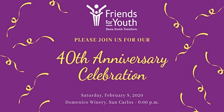 It's Our 40th Anniversary! tickets