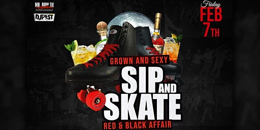"Sip And Skate AZ  ""Red & Black  Affair """