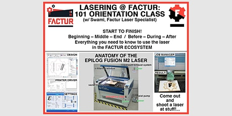 Laser Cool Things - Orientation with Swami tickets