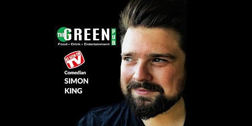 Comedian Simon King LIVE in Vernon!