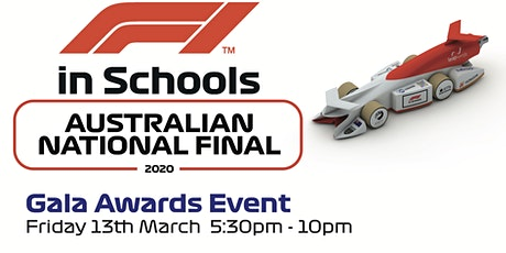 F1 in Schools 2020 Australian National Final - Gala Awards Event tickets